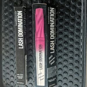 bare minerals liner and mascara